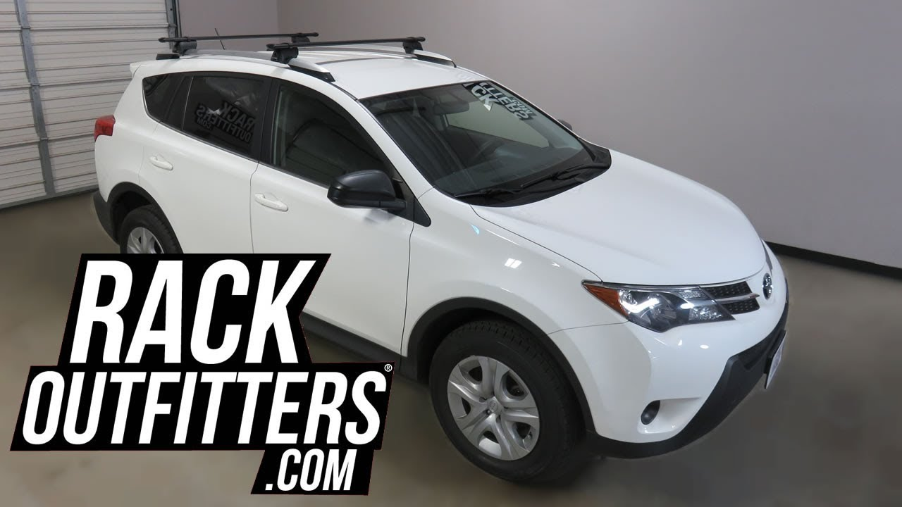 Toyota Rav 4 With Yakima Timberline Corebar Roof Rack