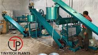 6TPD AUTOMATIC OIL MILL PLANT (ENGLISH)