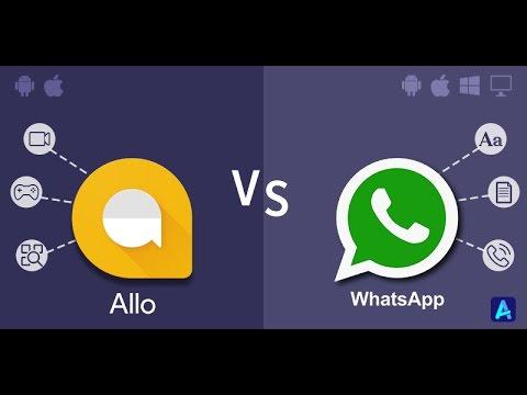 Whatsapp से ज्यादा अच्छा (chating App) Google Allo In (hindi)