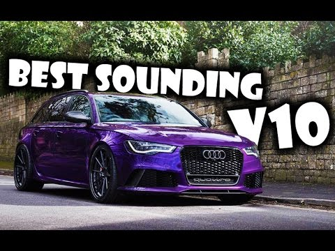 The 10 Best Sounding V10 Cars
