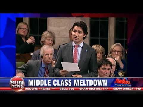 Trudeau's middle class meltdown