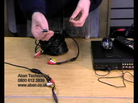 Aban Technology - How To Extend Your CCTV Camera System Cables - www.aban.co.uk