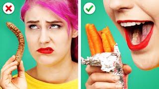 12 YUMMY FOOD HACKS! 🍊     Idées de cuisine pour garder vos aliments frais