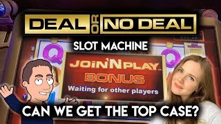 DEAL or NO DEAL! Slot Machine! With Stop and Step!! Join and Play BONUSES! Can I pick the best Case?