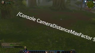 Nostalrius WoW How To Get Max Camera Distance