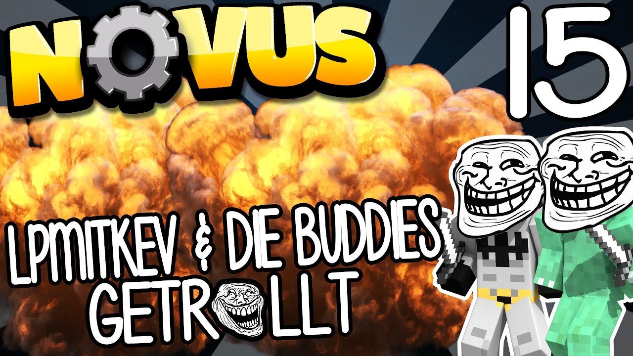 Lpmitkev logo  LPMITKEV & DIE BUDDIES WERDEN GETROLLT - NOVUS #15 | GAMERSTIME ...