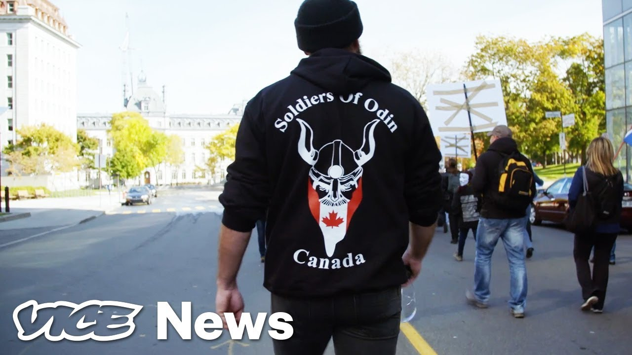 The Soldiers Of Odin Inside Canadas Extremist Vigilante Group