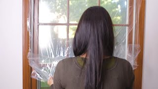 How to Install Duck® Brand Shrink Film Window Insulation Kits