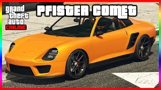GTA 5 ONLINE PFISTER COMET CAR MEET +DRAG RACING & MORE   (PS4)
