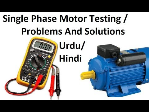 How To Test Single Phase Motor Windings Capacitor