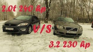 Лакшери Р6 3 2 за 600К Volvo S80 и брат Мондео 4