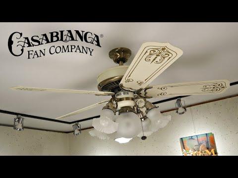 Casablanca Panama 5 Ceiling Fan   1080p HD Remake