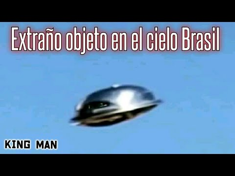 Objeto volador no identificado (OVNI) en el cielo de Brasil