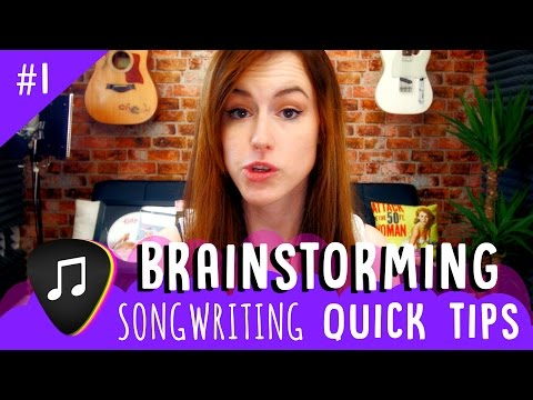 Songwriting Quick Tips!