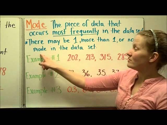 Measures Of Center 6th Grade