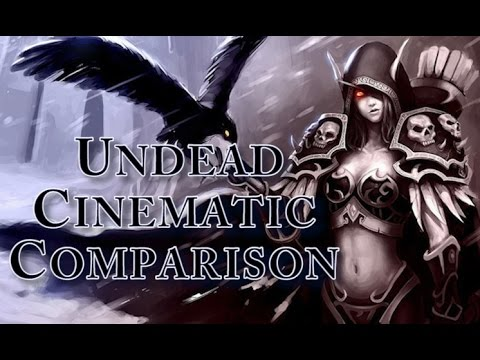 World Of Warcraft - Vanilla and Cataclysm Undead Starting Zone Cinematic Comparison
