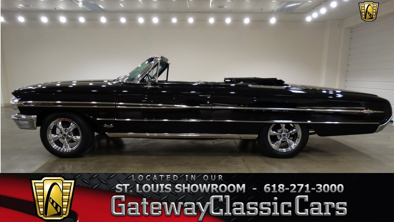 1964 Ford Galaxie 500XL - Gateway Classic Cars St. Louis - #6410 ...