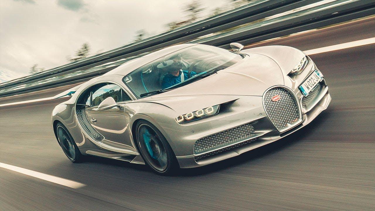 Doing 261mph in a Bugatti Chiron Sport | Top Gear