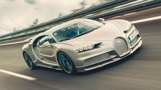 Doing 261mph in a Bugatti Chiron Sport | Top Gear