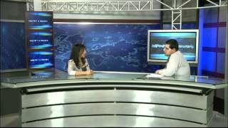 Sona Nazaryan - Interview on Yerevan TV about Let's Care Armenia! project