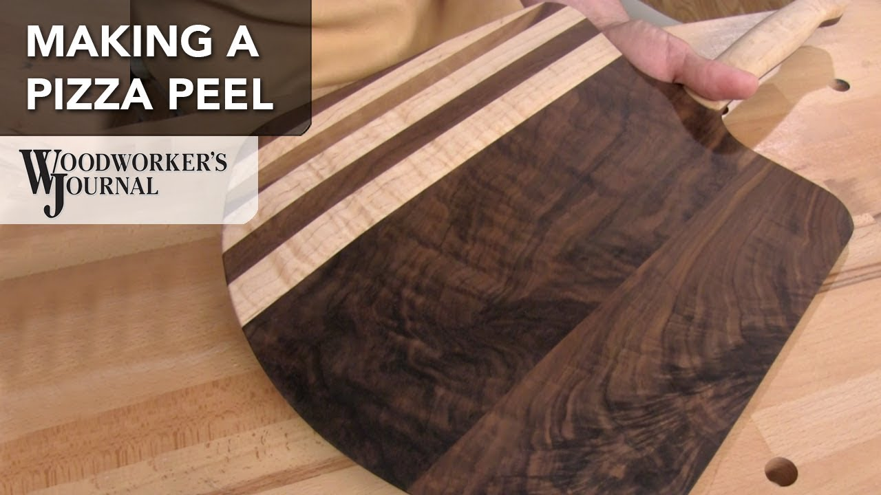 How To Make A Pizza Peel Woodworking Project Plan Sponsored By
