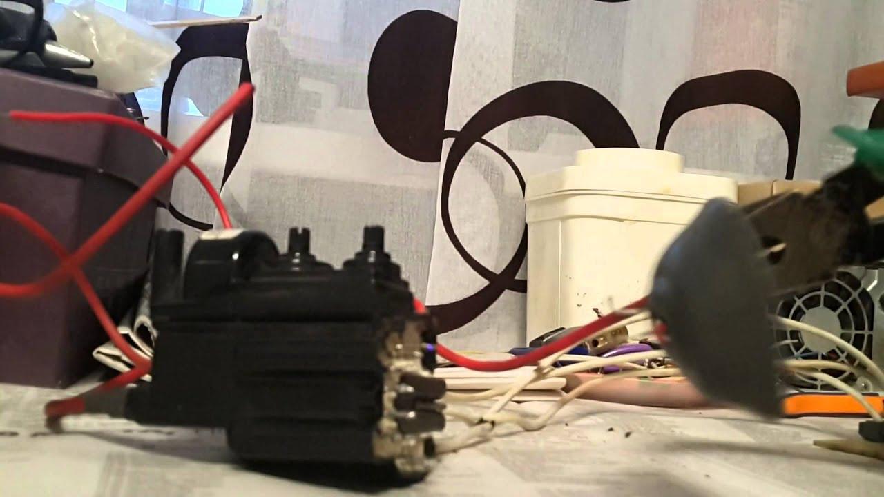 схема генератора высокого напряжения на тдкс