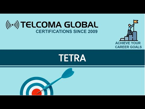 TETRA Technology - TETRA Training Course And Certification By TELCOMA