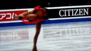 Mao Asada free skate at 2010 Four Continents in South Korea. Sorry ...