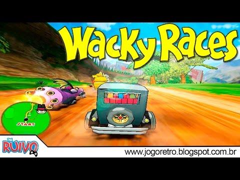 Wacky Races (CORRIDA MALUCA) / ARCADE TAITO TYPE X2 - COMO JOGAR NO PC