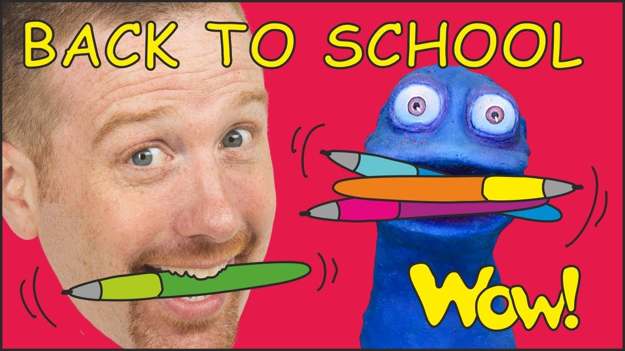 Back to School with Steve and Maggie | Speak English with Stories for Kids | Wow English TV