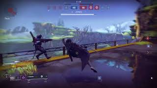 Destiny 2 Max mobility + Quickfang hunter sword PVP