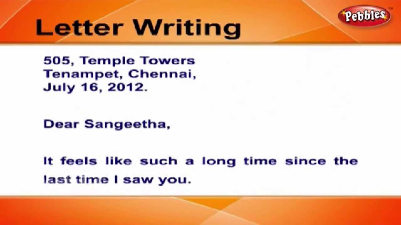 Writing Informal Letters and Emails for ESL Students