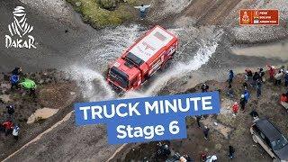 The Truck Minute - Stage 6 (Arequipa / La Paz) - Dakar 2018