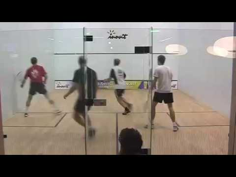 First Racketlon Squash Doubles ever November 2008