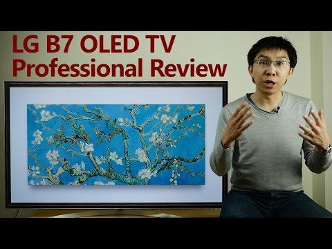 LG B7 2017 OLED TV Professional Expert Review