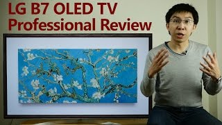 LG B7 2017 OLED TV Professional Expert Review