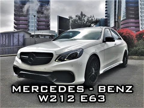 Mercedes - Benz W212 E63 Body  Kit - Pien Garage