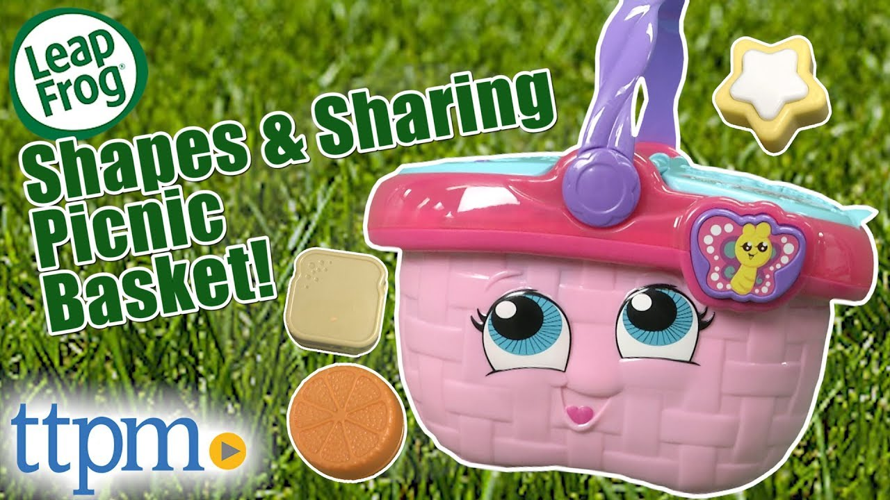 Shapes And Sharing Picnic Basket From Leapfrog Youtube