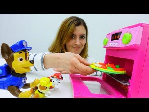 Spiel mit Paw Patrol Toys: wir machen Pizza aus PlayDoh #Knete – Paw Patrol Video auf Deutsch