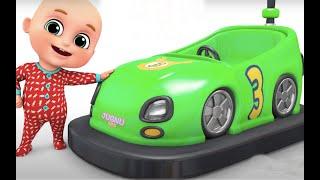 Kids Toys - Go Kart - Racing Car Toys - Kindergarten Surprise egg unboxing from Jugnu Kids
