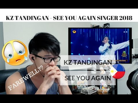 [REACTION] FAREWELL SONG!  KZ TANDINGAN - SEE YOU AGAIN | Singer 2018 | #JANGReacts