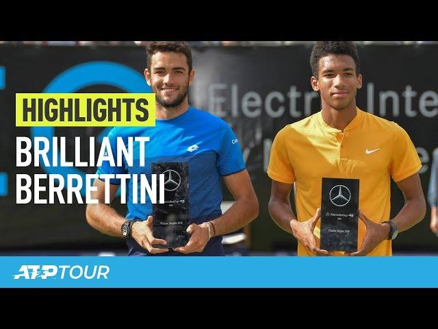 Matteo Magic in Stuttgart | HIGHLIGHTS | ATP