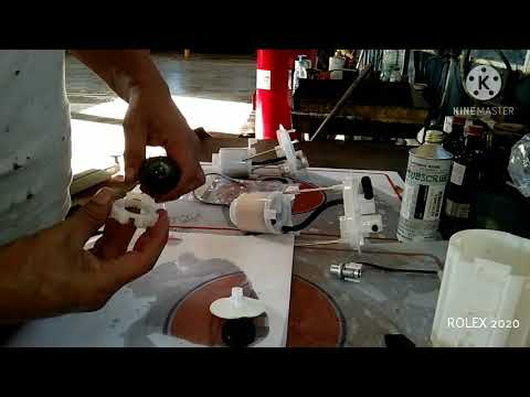 How to replace fuel filter of Mitsubishi Attrage and Mirage
