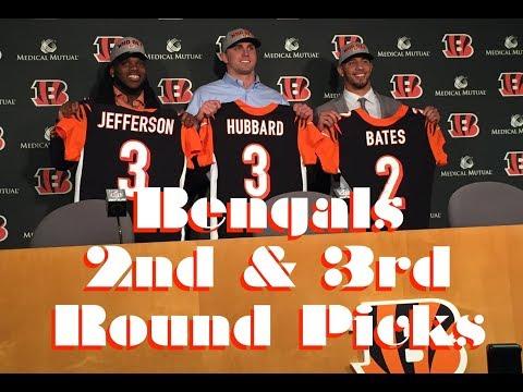 Bengals draft Jessie Bates Sam Hubbard and Malik Jefferson