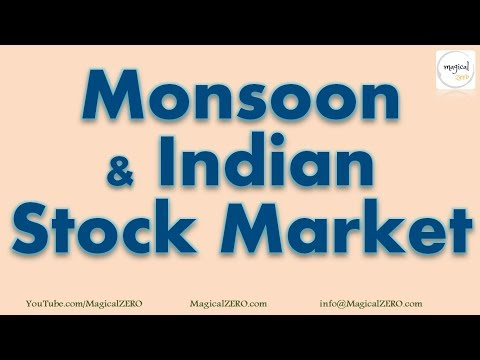 Monsoon & Indian Stock Market [2018] | Effect of Monsoon on Indian Stock Market
