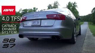 APR Catback Exhaust System with Center Muffler for the Audi C7/C7.5 S6/S7 4.0 TFSI
