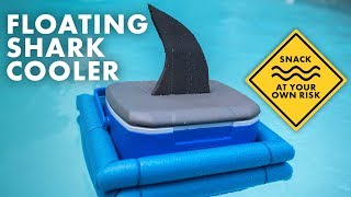 Make a Shark Cooler - DIY Floating Cooler for Pool Parties or Tubing - HGTV Handmade