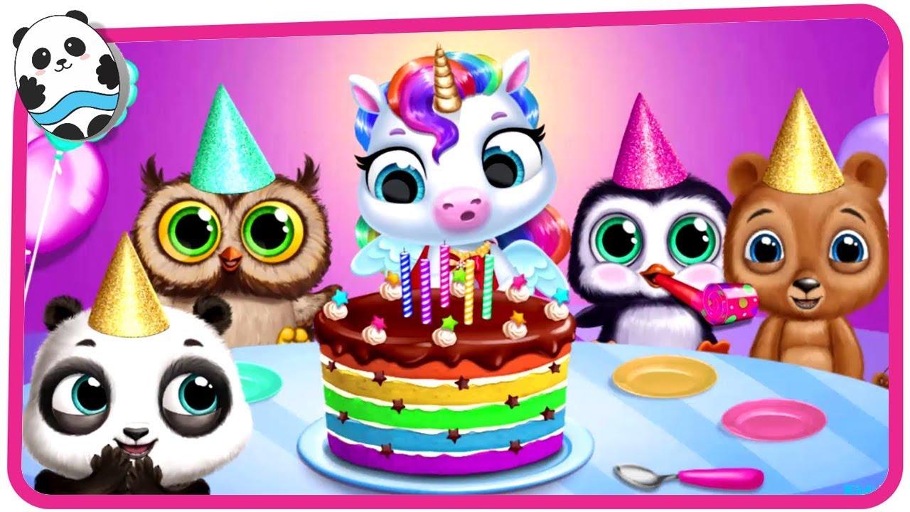 Fun Pony Pet Care Kids Games - My Baby Unicorn - Dress Up ...