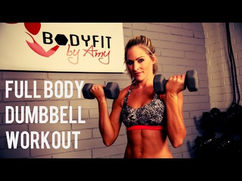 30 Minute Full Body Dumbbell Workout