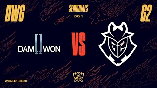DWG vs G2 | Semifinal Game 1 | World Championship | DAMWON Gaming vs. G2 Esports (2020)